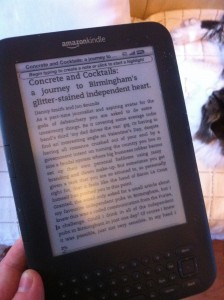 Concrete on Kindle